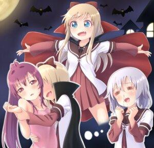 Rating: Questionable Score: 14 Tags: blood halloween ikeda_chitose loli pontasu seifuku sugiura_ayano toshinou_kyouko yuri yuru_yuri User: saemonnokami