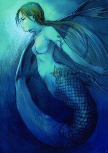 Rating: Questionable Score: 10 Tags: abe_yoshitoshi mermaid naked User: Radioactive