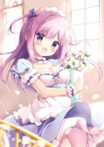 Rating: Questionable Score: 26 Tags: cleavage maid miyasaka_nako pantsu User: Twinsenzw