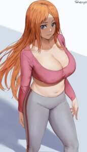 Rating: Questionable Score: 38 Tags: bleach cleavage erect_nipples inoue_orihime no_bra shexyo User: Werewolverine4