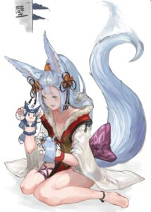 Rating: Safe Score: 27 Tags: animal_ears cleavage granblue_fantasy n9+ socie_(granblue_fantasy) tail User: Mr_GT