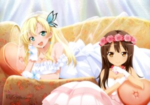 Rating: Safe Score: 115 Tags: boku_wa_tomodachi_ga_sukunai boku_wa_tomodachi_ga_sukunai_next cleavage dress kashiwazaki_sena nakatani_yukiko shiguma_rika wedding_dress User: drop