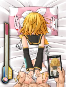 Rating: Explicit Score: 48 Tags: ass ass_grab bondage cum kagamine_rin kitsunerider loli pantsu penis pussy seifuku sex vocaloid User: Mr_GT