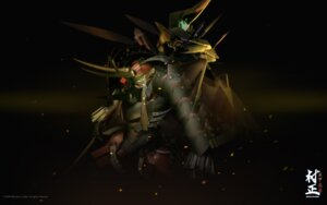 Rating: Safe Score: 7 Tags: full_metal_daemon_muramasa mecha namaniku_atk nitroplus sword wallpaper User: Devard