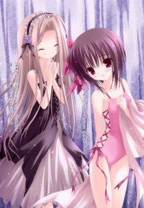 Rating: Safe Score: 32 Tags: dress duel_dolls lolita_fashion swimsuits tinkle User: syaoran-kun