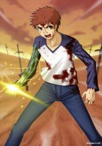 Rating: Safe Score: 1 Tags: emiya_shirou fate/stay_night male sugar_(artist) User: Share