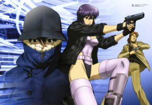 Rating: Safe Score: 6 Tags: ghost_in_the_shell gotou_takayuki gun kusanagi_motoko overfiltered togusa User: Wraith