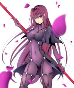 Rating: Questionable Score: 61 Tags: bodysuit fate/grand_order fate/stay_night scathach_(fate/grand_order) tetsu_(excalibur920) weapon User: mash