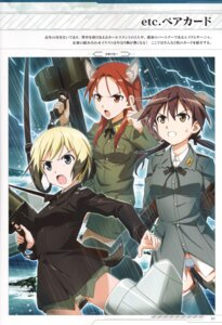 Rating: Questionable Score: 4 Tags: animal_ears erica_hartmann gertrud_barkhorn gun inumimi minna_dietlinde_wilcke pantsu strike_witches tagme uniform User: Nepcoheart