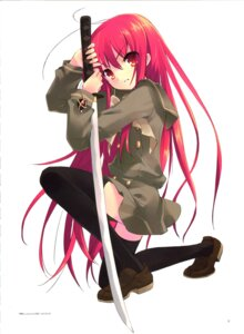 Rating: Safe Score: 29 Tags: ito_noizi seifuku shakugan_no_shana shana sword thighhighs User: admin2