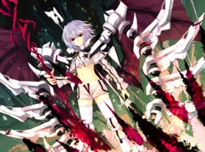 Rating: Safe Score: 32 Tags: black_rock_shooter cosplay hisago mecha_musume remilia_scarlet thighhighs touhou vocaloid white_rock_shooter User: Radioactive