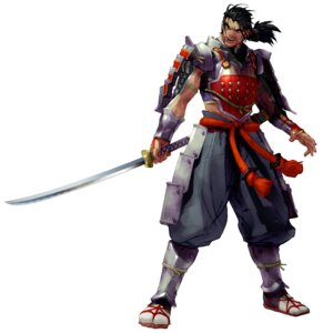 Rating: Questionable Score: 4 Tags: armor heishirou_mitsurugi male samurai soul_calibur sword weapon User: Yokaiou