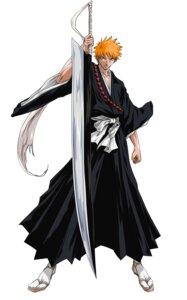 Rating: Safe Score: 10 Tags: bleach japanese_clothes kurosaki_ichigo male sword weapon User: Radioactive