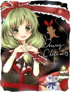 Rating: Safe Score: 8 Tags: christmas kagiyama_hina touhou umi User: konstargirl