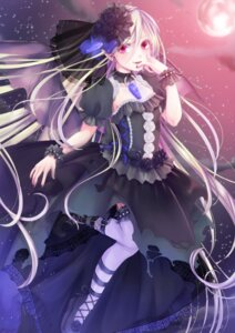 Rating: Safe Score: 29 Tags: dress honegumi thighhighs User: KazukiNanako