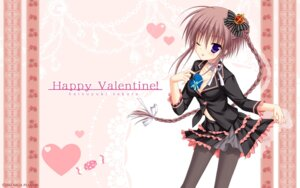 Rating: Safe Score: 54 Tags: cleavage hatsuyuki_sakura jpeg_artifacts kozakai_aya pantyhose saga_planets toranosuke valentine wallpaper User: bakatori