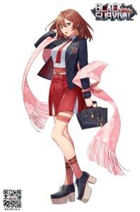 Rating: Safe Score: 10 Tags: black_survival garter heels seifuku yamakawa User: Dreista