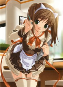 Rating: Safe Score: 77 Tags: errors koku thighhighs waitress User: blues