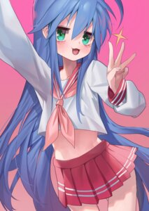 Rating: Safe Score: 12 Tags: izumi_konata lucky_star seifuku ssangbong-llama User: Dreista
