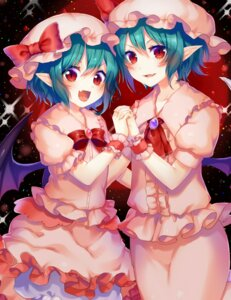 Rating: Safe Score: 16 Tags: pointy_ears remilia_scarlet touhou tsukimiya_sei wings User: Mr_GT