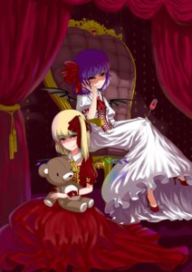 Rating: Safe Score: 5 Tags: flandre_scarlet orangec remilia_scarlet touhou User: Mr_GT