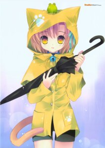 Rating: Safe Score: 26 Tags: animal_ears nekomimi tail tokumi_yuiko User: kevingwn
