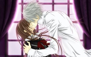 Rating: Safe Score: 9 Tags: cross_yuuki kiryuu_zero signed vampire_knight vector_trace wallpaper User: charunetra