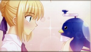 Rating: Safe Score: 13 Tags: binding_discoloration fate/stay_night fixme saber takeuchi_takashi type-moon User: Wraith