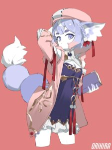 Rating: Questionable Score: 12 Tags: animal_ears asian_clothes cleavage orihira tagme tail User: Dreista