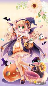 Rating: Safe Score: 19 Tags: dress halloween heels sakurano_ruu thighhighs wings witch User: fairyren
