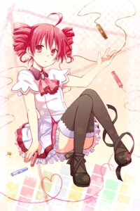 Rating: Safe Score: 33 Tags: dress kasane_teto kousetsu thighhighs utau User: DragonSushi
