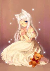 Rating: Safe Score: 36 Tags: animal_ears dress tail tsubasa_tsubasa User: Mr_GT
