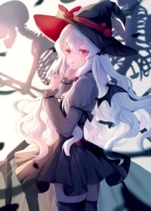 Rating: Safe Score: 27 Tags: dress iceblue thighhighs witch User: Arsy