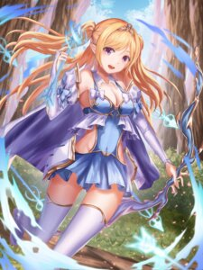 Rating: Safe Score: 38 Tags: cleavage nani_(goodrich) pointy_ears thighhighs weapon User: Mr_GT