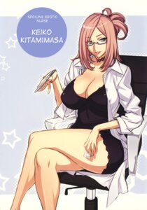 Rating: Safe Score: 39 Tags: cleavage dress megane uno_makoto User: blooregardo