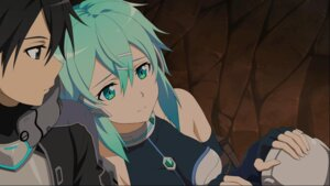 Rating: Safe Score: 28 Tags: armor kirito sinon sword_art_online sword_art_online_fatal_bullet User: FDSJKO