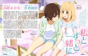 Rating: Safe Score: 20 Tags: asagao_to_kase-san dress kase_tomoka sakai_kyuuta yamada_yui yuri User: drop
