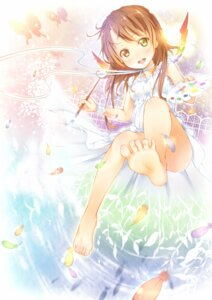 Rating: Safe Score: 53 Tags: dress feet heterochromia ichi_makoto oekaki_musume summer_dress User: fireattack