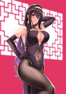 Rating: Questionable Score: 34 Tags: chinadress cleavage kasumigaoka_utaha no_bra pantyhose ributsu saenai_heroine_no_sodatekata User: mash