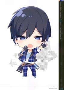 Rating: Safe Score: 5 Tags: chibi ensemble_stars! hidaka_hokuto male mishima_kurone User: kiyoe