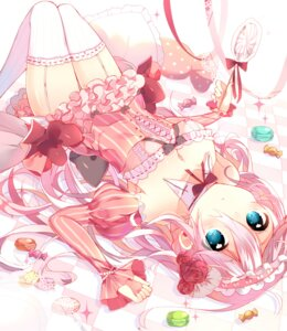 Rating: Safe Score: 82 Tags: dress ia_(vocaloid) ikari_(aor3507) stockings thighhighs vocaloid User: KazukiNanako
