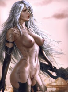 Rating: Explicit Score: 22 Tags: logan_cure naked nier_automata nipples pussy sword yorha_type_a_no._2 User: lushp