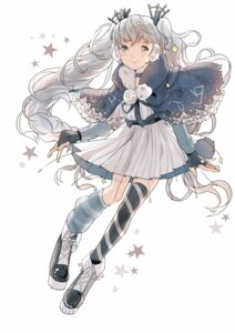 Rating: Safe Score: 17 Tags: dress fuyu_no_yoru_miku tagme thighhighs vocaloid User: charunetra