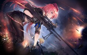 Rating: Safe Score: 115 Tags: girls_frontline gun ntw-20_(girls_frontline) pantyhose seifuku welrod_mk2_(girls_frontline) yuran User: Mr_GT
