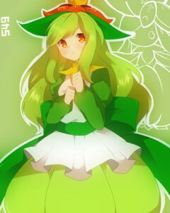Rating: Safe Score: 28 Tags: anthropomorphization dress lilligant pokemon takeshima_(nia) User: charunetra