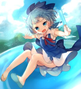 Rating: Safe Score: 21 Tags: cirno dress harakasu touhou User: KazukiNanako
