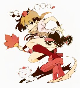 Rating: Safe Score: 12 Tags: ichizen shameimaru_aya touhou User: hobbito