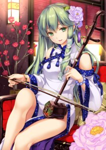 Rating: Safe Score: 80 Tags: chinadress kochiya_sanae monety touhou User: Mr_GT