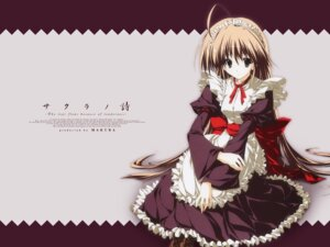 Rating: Safe Score: 13 Tags: dress inugami_kira makura misakura_rin sakura_no_uta wallpaper User: astom