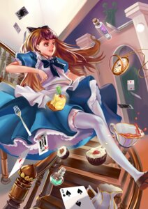 Rating: Safe Score: 9 Tags: alice alice_in_wonderland dress thighhighs xiamianliele User: Radioactive